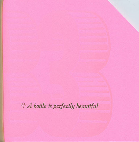 6x6 #33: * A BOTTLE IS PERFECTLY BEAUTIFUL by 6x6 Poets
