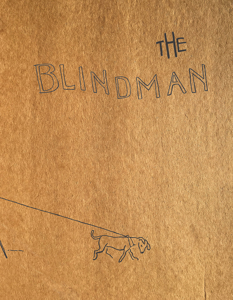 THE BLIND MAN by Marcel Duchamp, Beatrice Wood, & Henri-Pierre Roché, edited by Sophie Seita