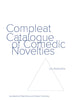 COMPLEAT CATALOGUE OF COMEDIC NOVELTIES by Lev Rubinstein