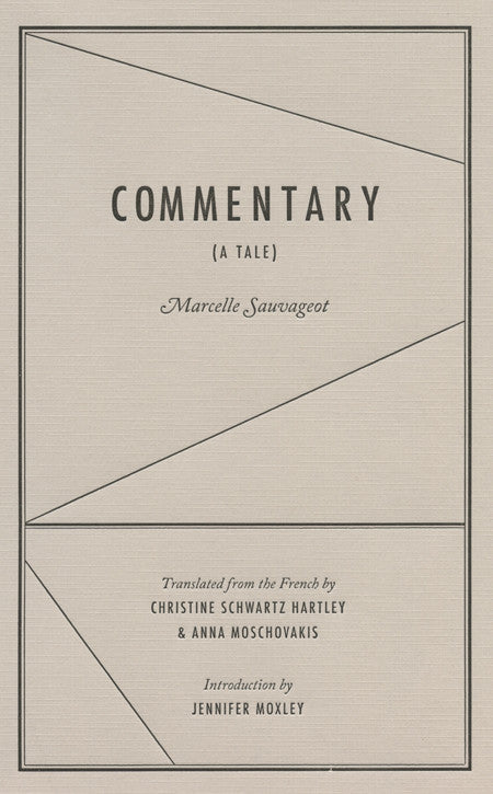 COMMENTARY by Marcelle Sauvageot