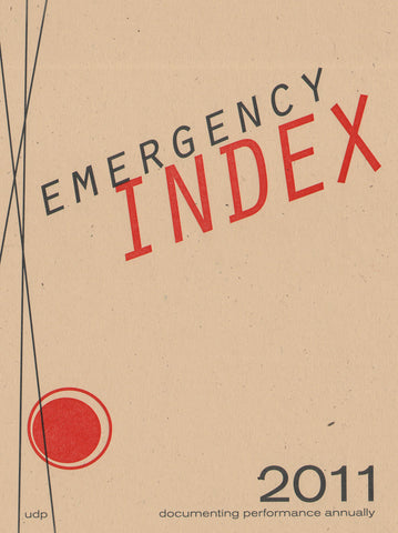 EMERGENCY INDEX 2011 by Index 2011 Contributors
