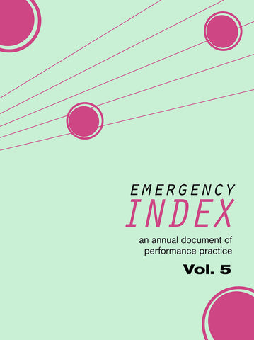 EMERGENCY INDEX, VOL. 5 by Index 2015 Contributors