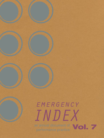 EMERGENCY INDEX, VOL. 7 by Index 2017 Contributors