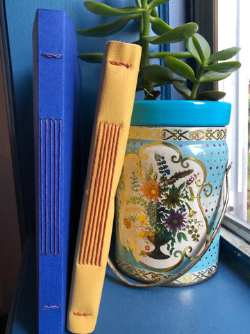 Softcover Long-stitch Binding: Online Workshop with Willa Goettling