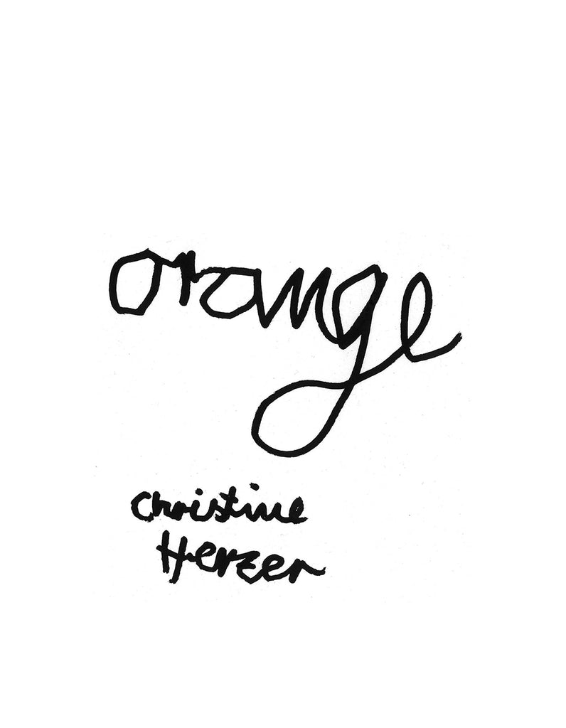 ORANGE by Christine Herzer
