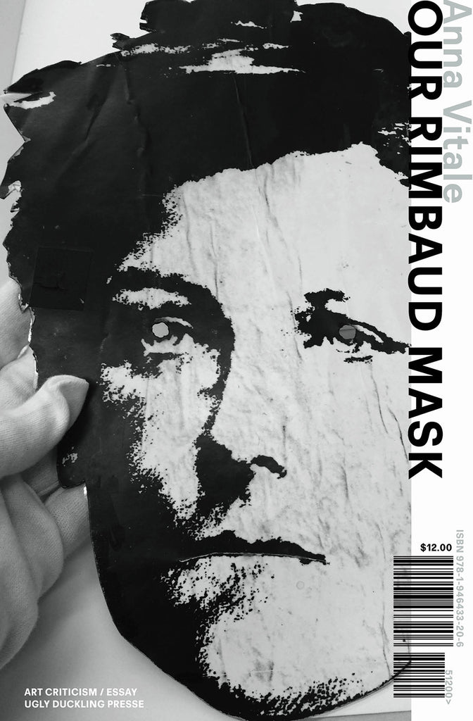 OUR RIMBAUD MASK by Anna Vitale