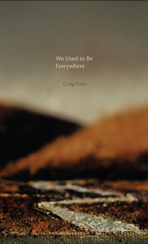 WE USED TO BE EVERYWHERE by Craig Foltz
