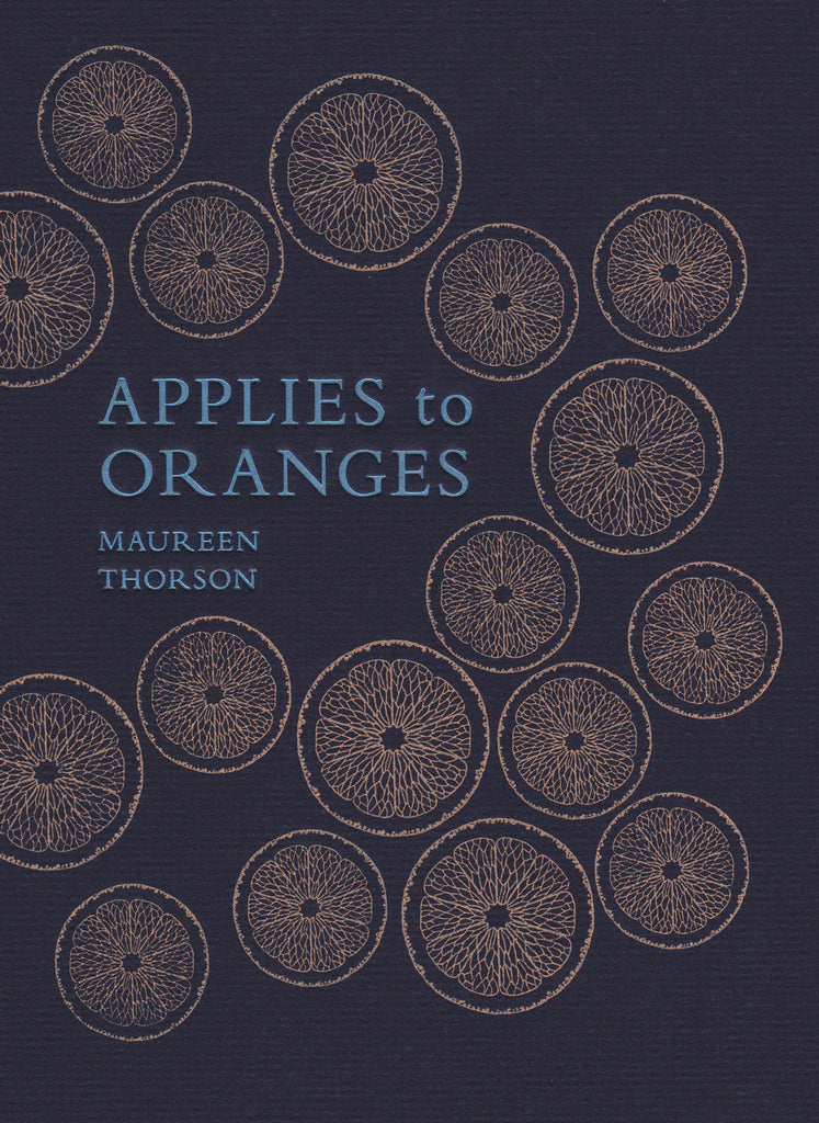 APPLIES TO ORANGES by Maureen Thorson (book)