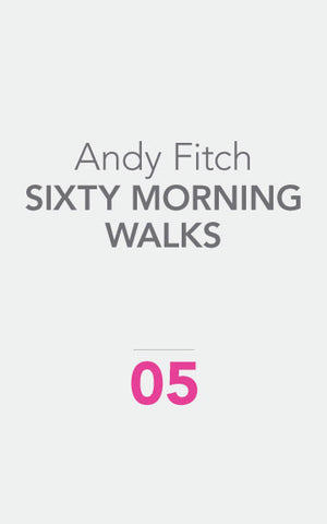 SIXTY MORNING WALKS by Andy Fitch