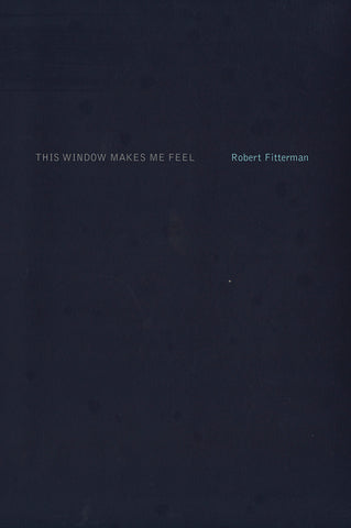 THIS WINDOW MAKES ME FEEL by Robert Fitterman