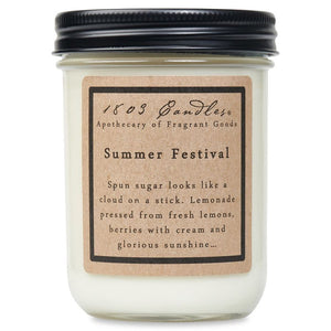 1803 Candles: Summer Festival 14oz. Jar Candle