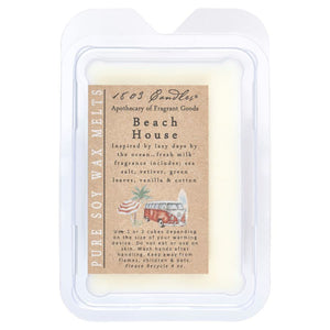 1803 Candles: Beach House Soy Melter