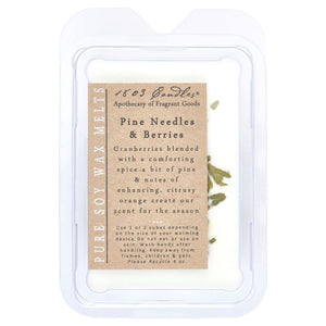 1803 Candles: Pine Needles & Berries Soy Melter