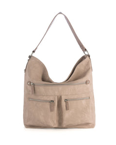 Brooklyn Hobo Handbag, Blush