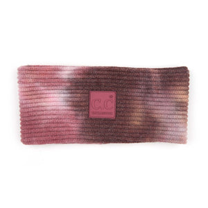 CC Tie Dye Super-Soft Headwrap, Wild Ginger