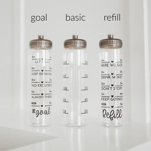 Get It Girl 32oz Tracker Water Bottle, Goal