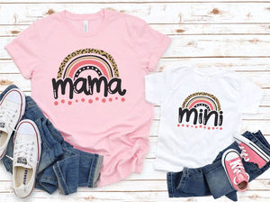*PREORDER*: Rainbow Mama Graphic Tee XS-3X, (3 Colors)