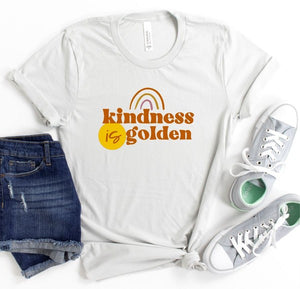 *PREORDER*: Kindness Is Golden Graphic Tee XS-3X, (3 Colors)