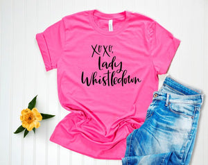 *PREORDER*: XOXO Lady Whistledown Bridgerton Tee XS-3X, (4 Colors)