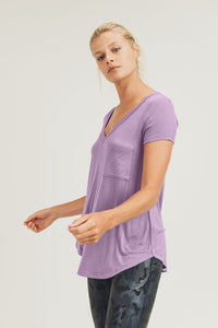 Endless Possibilities Mono B Essential V-Neck Tee, Nirvana