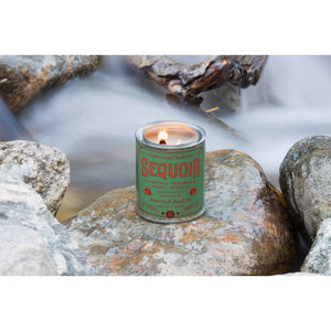 Sequoia Wood Wick Candle (1/2 Pint)