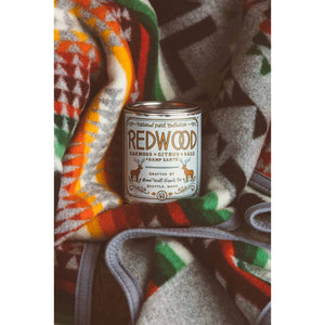 Redwood Wood Wick Candle (1/2 Pint)