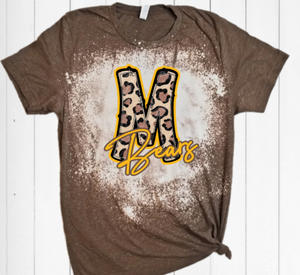 *PREORDER*: Bleached MONROE BEARS Tee, ADULT Sizes S-4XL