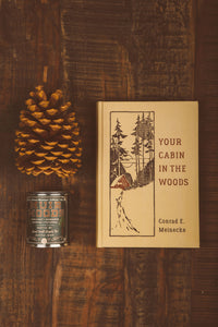 Muir Woods Wood Wick Candle (1/2 Pint)