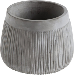 Bloomingville* Cement Planter, Grey