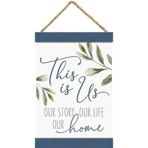 This is Us Canvas & Wood Banner Art