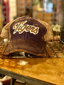 'Bling' Vintage Ball Cap, Tigers