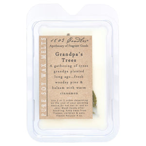 1803 Candles: Grandpa's Trees Soy Melter