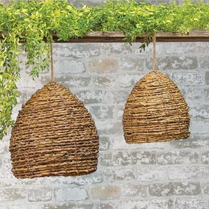 Natural Bee Skep, Small