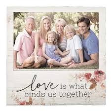 Love Is What Binds Us Together Photo Frame Box