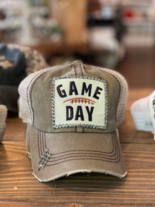 FINAL SALE 'Bling' Vintage Ball Cap, Game Day