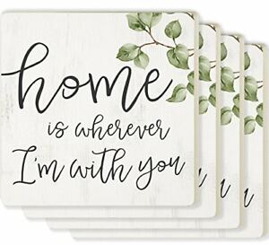 Home Is Wherever I'm With You Individual Coaster