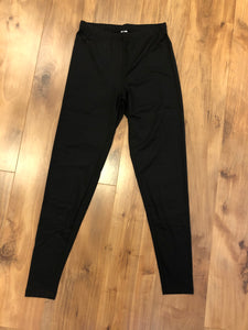 Buttery Soft Solid Black Leggings