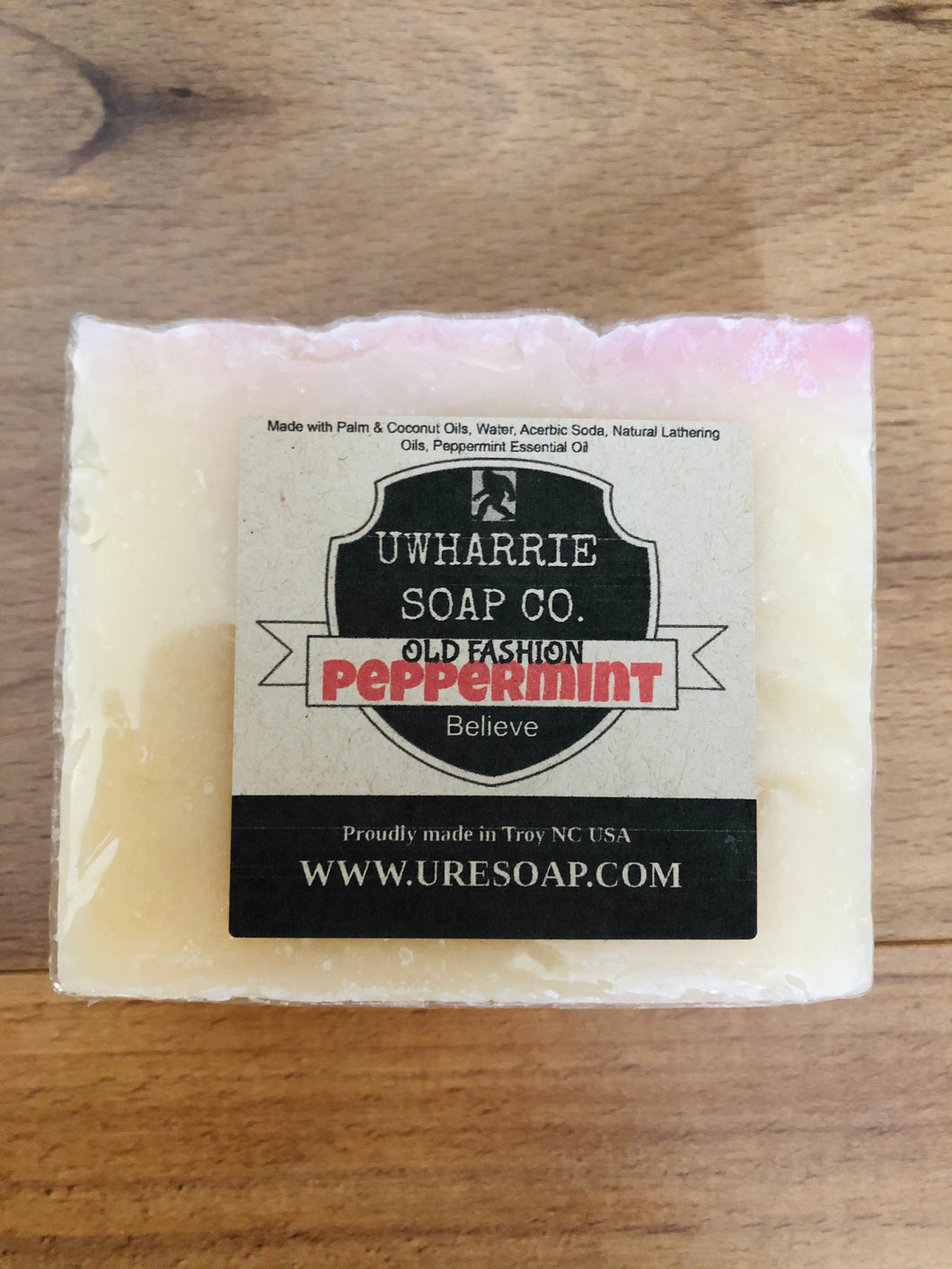 Uwharrie Soap Co. Cold Process Peppermint Soap