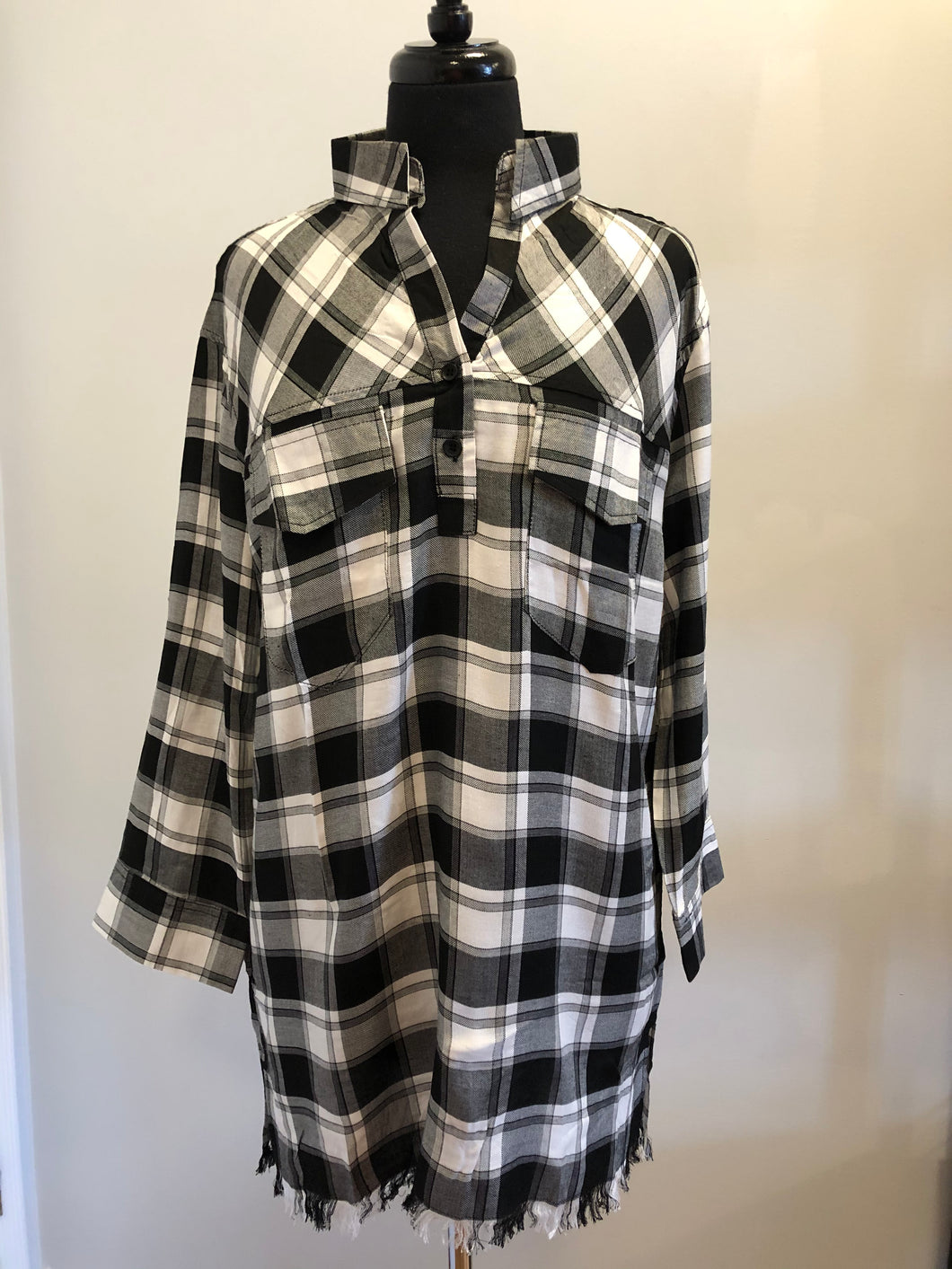 Plaid About You Tunic
