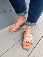 Load image into Gallery viewer, Lily Studded Sandals