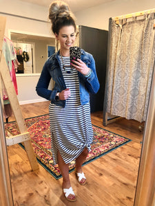 By the Boardwalk Maxi Dress