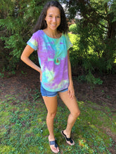 Load image into Gallery viewer, Island Oasis Tie Dye Tee