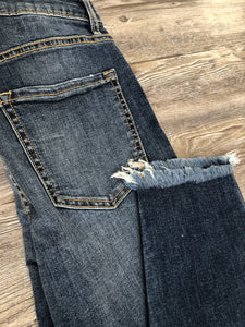 The Dolly Frayed Hem Jeans