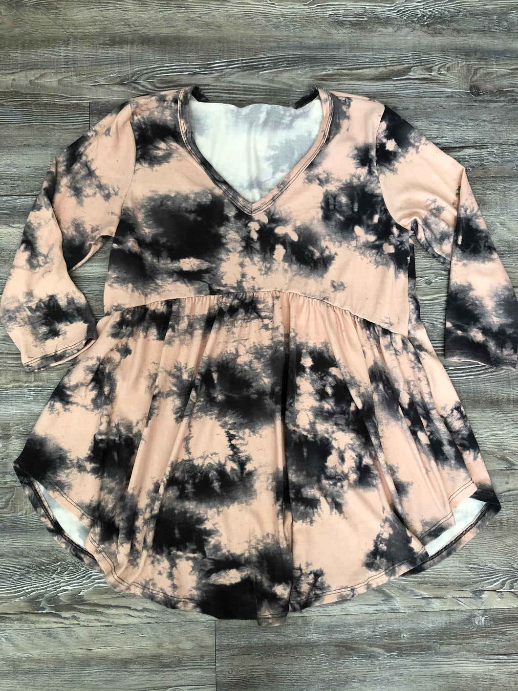 Blushing For You Tie Dye Top