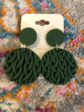 Load image into Gallery viewer, Sweater Weather Clay Earrings