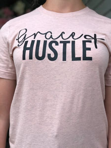 Grace and Hustle Graphic Tee