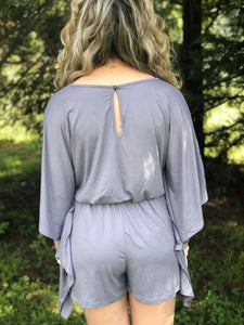 Butterfly Wings Lavender Romper