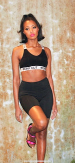 "Load image into Gallery viewer, The ""Workout"" Tape Sports Bra"