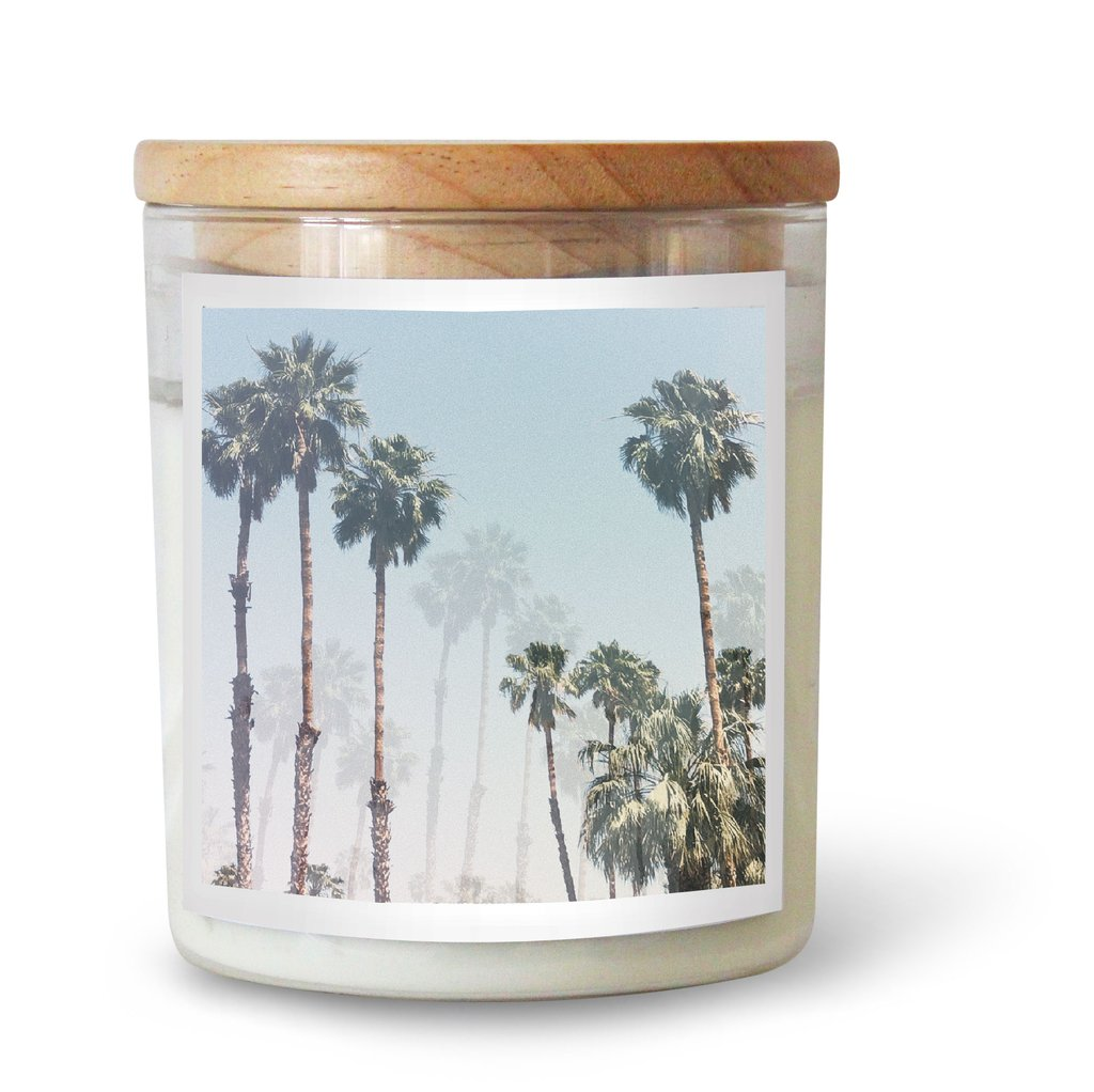 The Commonfolk Collective Sea Bones Palm Springs Soy Candle