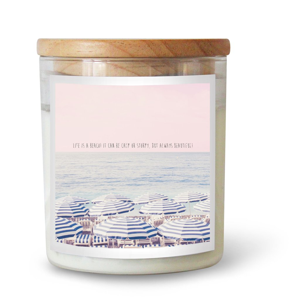 The Commonfolk Collective Lifes a Beach Soy Candle